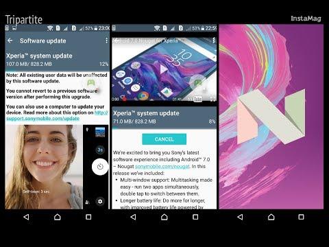 Sony Xperia XA Nougat Update Android 7.0 available in Malaysia - XA Dual, F3116 - Xperia Companion