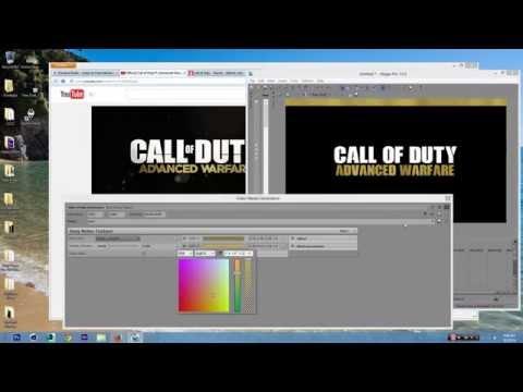CoD: Advanced  Warfare Intro Speed Art Sony Vegas Pro