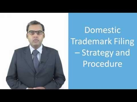 Lecture on Domestic Trademark Filing