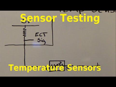 Testing Thermistors (Temp Sensors)