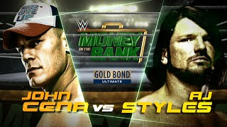 """Money in the Bank 2016 Official & Full Match Card """"1080p"""""""