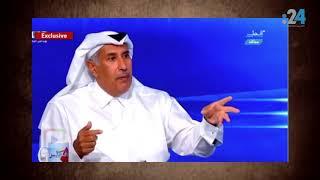 حمد بن جاسم يعترف بتسجيلاته مع القذافي ويقدم تبريرات عجائبية