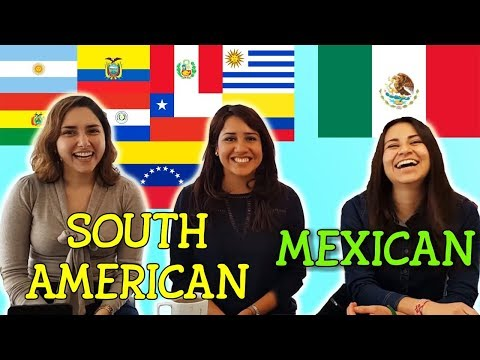 Mexican vs South American Slang Challenge