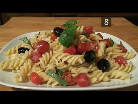 How To Prepare Fusilli Pasta Salad