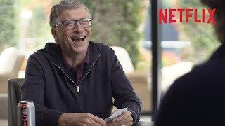 Bill Gates gets super lucky playing cards! | Netflix
