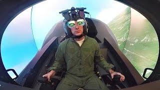 F-35 Pilots Go To School - F-35 Simulator At The Academic Training Center
