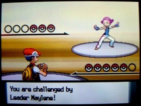 Pokémon Diamond, Gym Leader #3: Maylene & the Cobble Badge