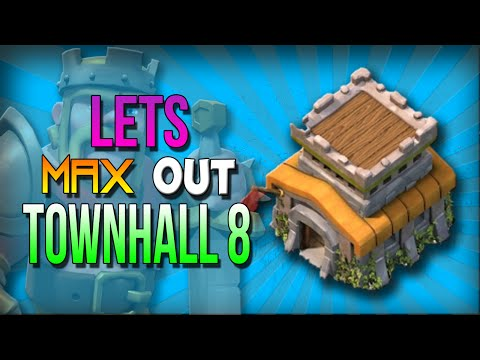 Clash of Clans: Getting Dark Elixir Fast! (TH8 & TH9 Strategy) - Lets Max TH8! #7