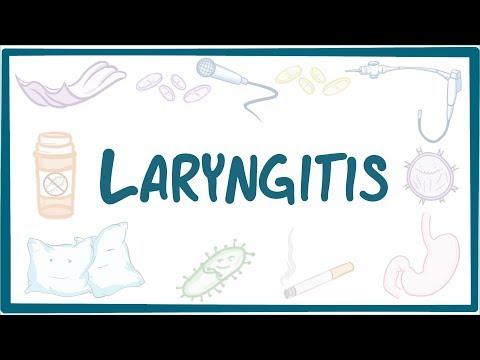 Laryngitis - causes, symptoms, diagnosis, treatment, pathology