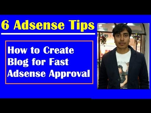Blogger Blog for Fast Google Adsense Approval, Adsense Approval Trick 2018 | EarningBaba