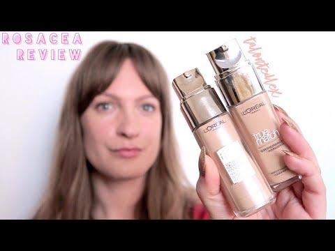 #ROSACEAREVIEW: L'Oréal Paris Age Perfect Foundation