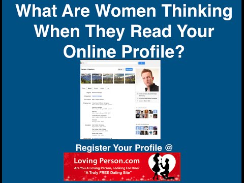 What Are Women Thinking When They Read Your Online Profile?