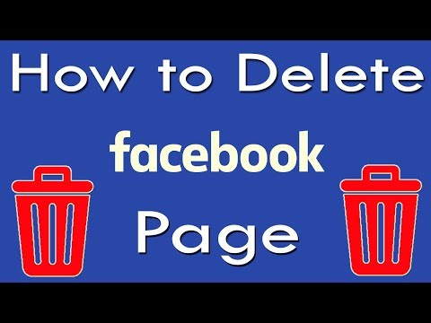 How to Delete Facebook Page | How to Delete Facebook Page on Mobile/PC