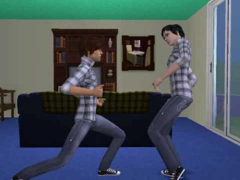 The sims 2 The Twins vampire and werewolf movie