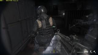GTX 1070 Xtreme Gaming Call of Duty Modern Warfare Remastered Gameplay