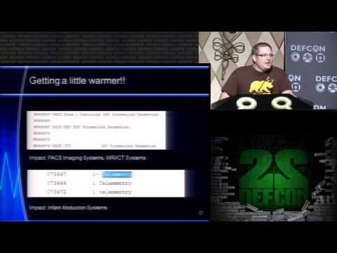 DEF CON 22 - Scott Erven and Shawn Merdinger - Just What The Doctor Ordered?
