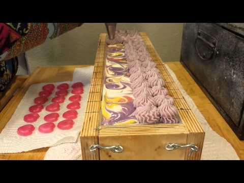 WildChick Soap & Apothecary Making and Cutting Love Trip Artisan Soap