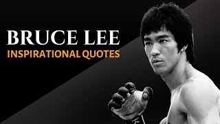 BRUCE LEE QUOTES THAT MADE HIM A LEGEND (Calmly Spoken Inspiration)