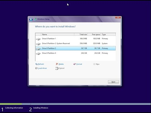 How to Install Windows 10 in New Laptop or Desktop PC (Make Drive Partition)