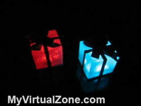 Light UP LED Magic Gift Box
