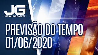 PREVISÃO DO TEMPO – 01/06/2020