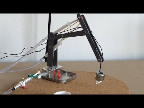 Make A Hydraulic Arm!