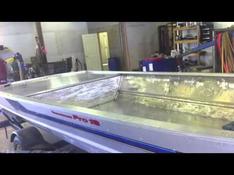 BigFishHeads Jet Jon Boat Build