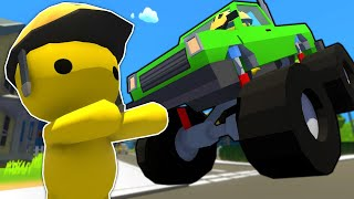 I Showed My New Monster Truck to My Friends! -  Wobbly Life Ragdoll Gameplay Multiplayer