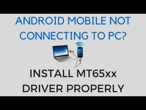 How to Install MT65xx Android Driver in PC | Connect Android Device to PC without Driver Issues