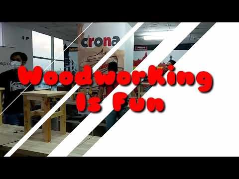 Crona Academy Woodworking Is Fun