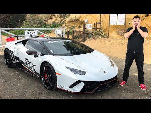 This $375,000 Huracan Performante Has 875hp And It's AMAZING