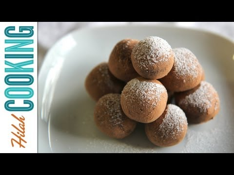 How to Make Chocolate Truffles | Hilah Cooking