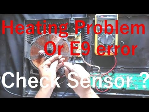 How To Check Sensor Of Induction Cooktop (And Solve E9 Error)-इंडक्शन कुकर का सेंसर कैसे चेक करे