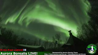 Aurora Borealis in Lapland, Finland *Live Stream* Highlights 7.11.2018