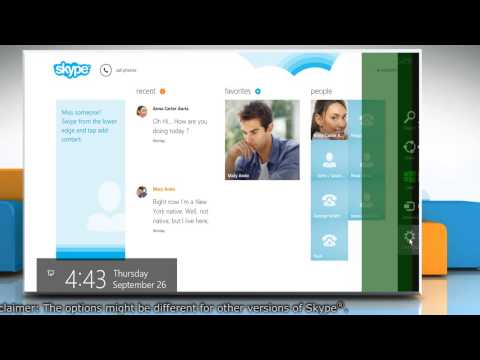 How to manage notifications and alerts in Skype®