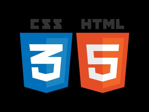 HTML CSS Easy steps to create a website template from scratch Part 2