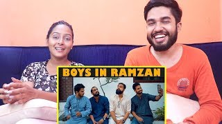 INDIANS react to BOYS IN RAMZAN   Karachi Vynz Official