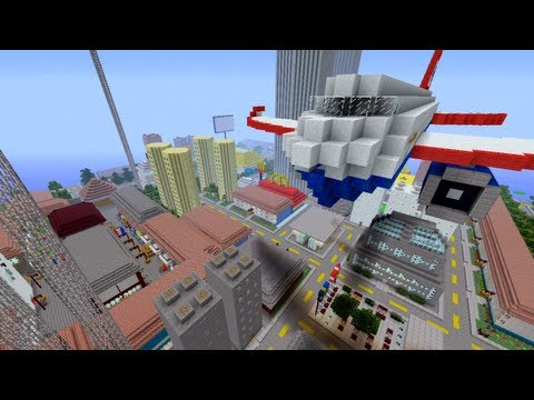 Minecraft Xbox - City With History - Novakov City - Part 2