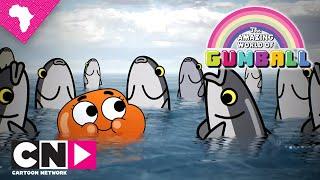Darwin Getting on His Way   The Amazing World of Gumball   Cartoon Network