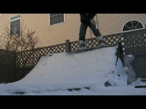Mini Ramp Snowboard promo