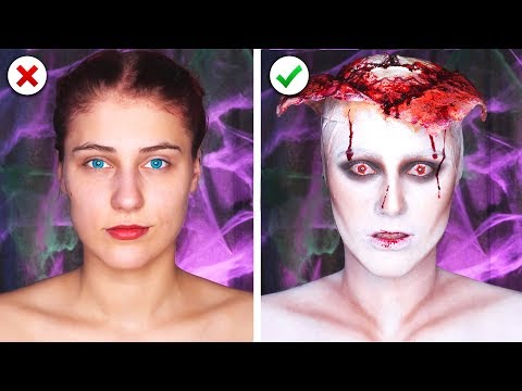 Xxx Mp4 6 Scary Last Minute Halloween Makeup And Costume Ideas 3gp Sex