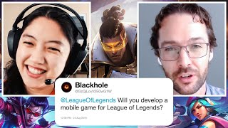 Riot Games Answers League of Legends Questions from Twitter | Tech Support | WIRED