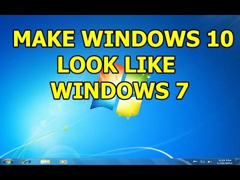 How to Make Windows 10 Look Like Windows 7