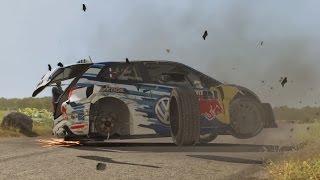 Dirt rally crashes 3
