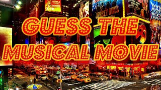 [GUESS THE MUSICAL MOVIE]  - Beautiful Musical Soundtracks - Difficulty 🔥🔥