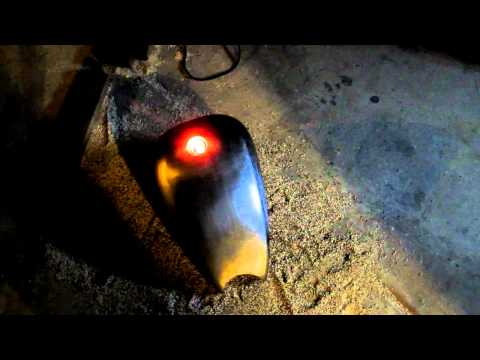 one way to prepare a gas tank for cutting and welding