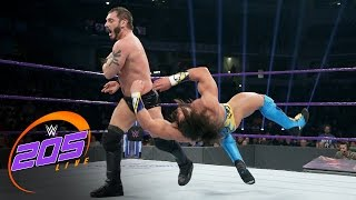 Austin Aries vs. Tony Nese: WWE 205 Live, March 7, 2017