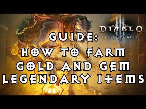 diablo 3 legendary items farming