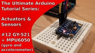 Simple Arduino Robot uses a MPU6050 to manage steering