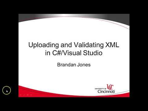 13. Validating XML against XSD in C# using XmlReader